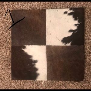 Cowhide Pillow Cases